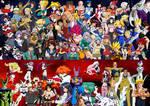 Anime Hero vs Villains