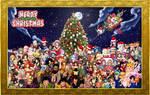 Anime Christmas 2017 by Cokedark11
