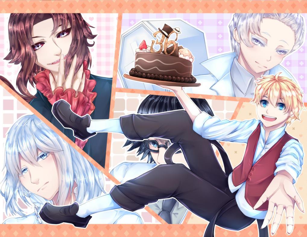 Narita-san's birthday by Kucingila