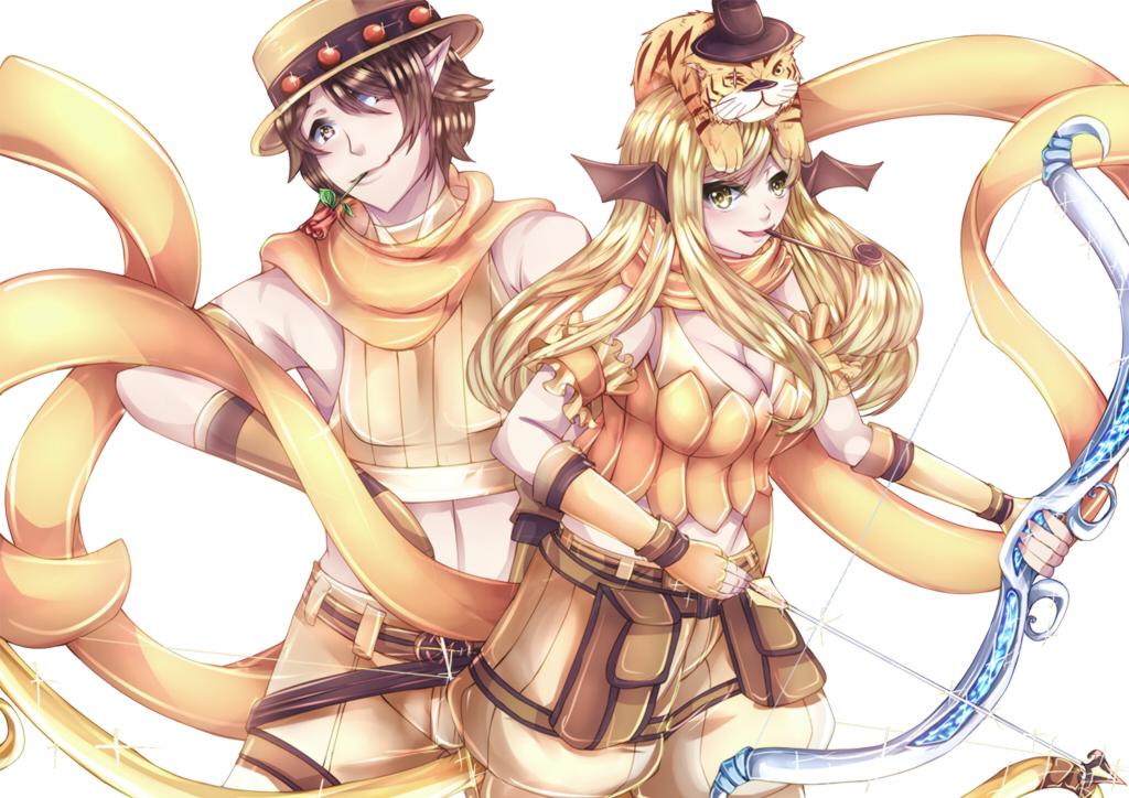 Ro Comm: Double Ranger by Kucingila
