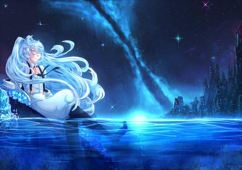 Blue Night Melancholia