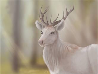 Finished YCH Deer by Khudiakova
