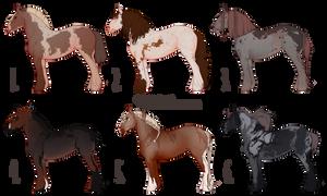 HORSE-ADOPT AUCTION [OPEN 5/6]