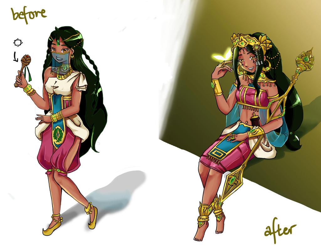 [OC] Crunchyroll Magi Contest: Dazia by audweam