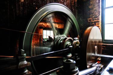 Steam Engine at Bursledon Brickworks by The-Baron