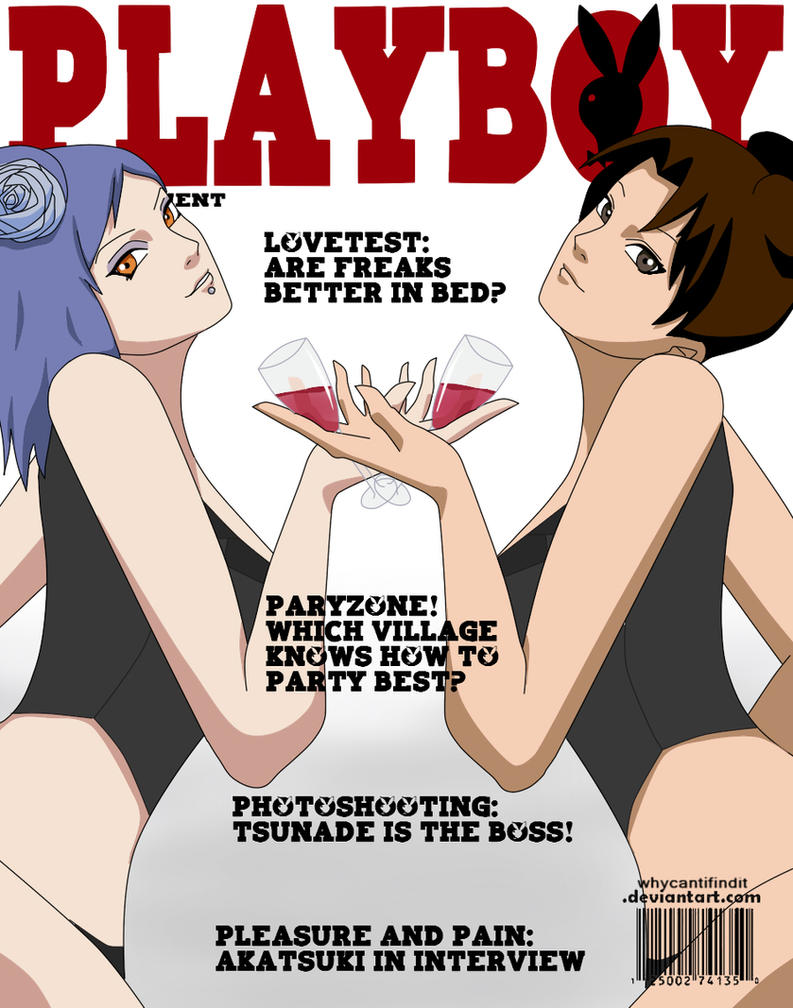 Playboy Cover : Konan and Tenten by WhyCantIFindIt