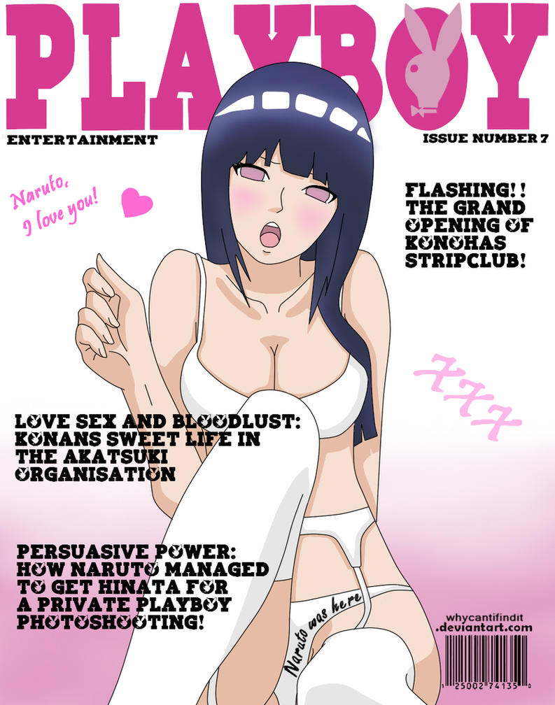 Playboy Cover : Hinata by WhyCantIFindIt