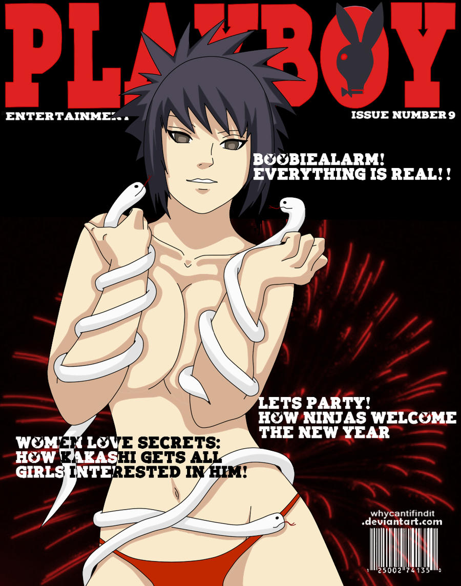 Playboy Cover : Anko by WhyCantIFindIt
