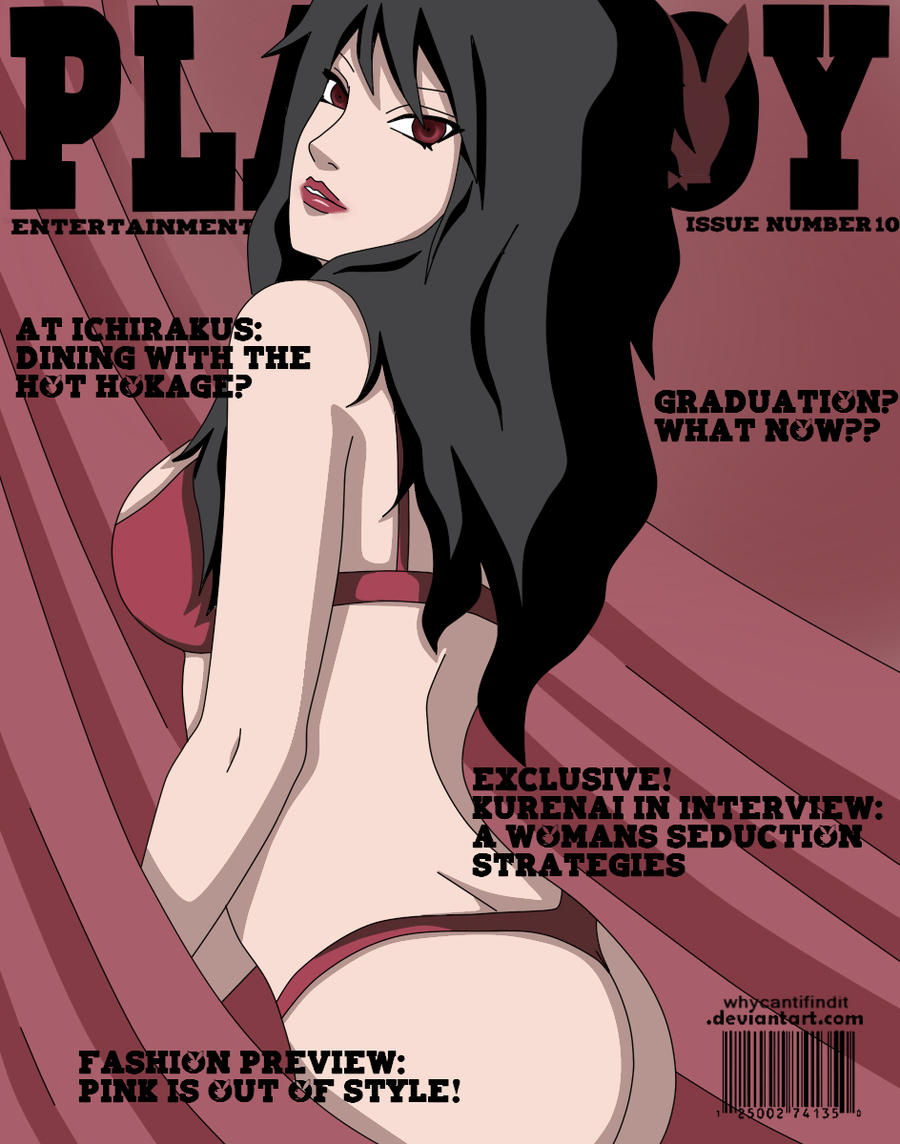 Playboy Cover : Kurenai by WhyCantIFindIt