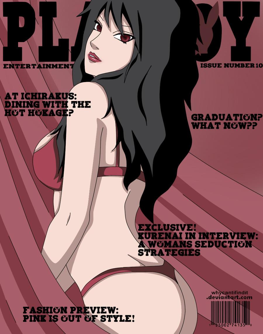 Playboy Cover : Kurenai by WhyCantIFindIt