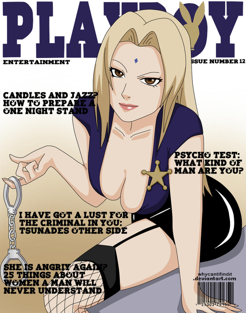 Playboy Cover : Tsunade by WhyCantIFindIt
