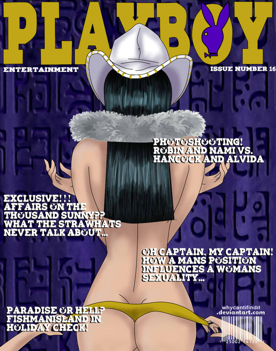 Playboy Cover: Robin by WhyCantIFindIt