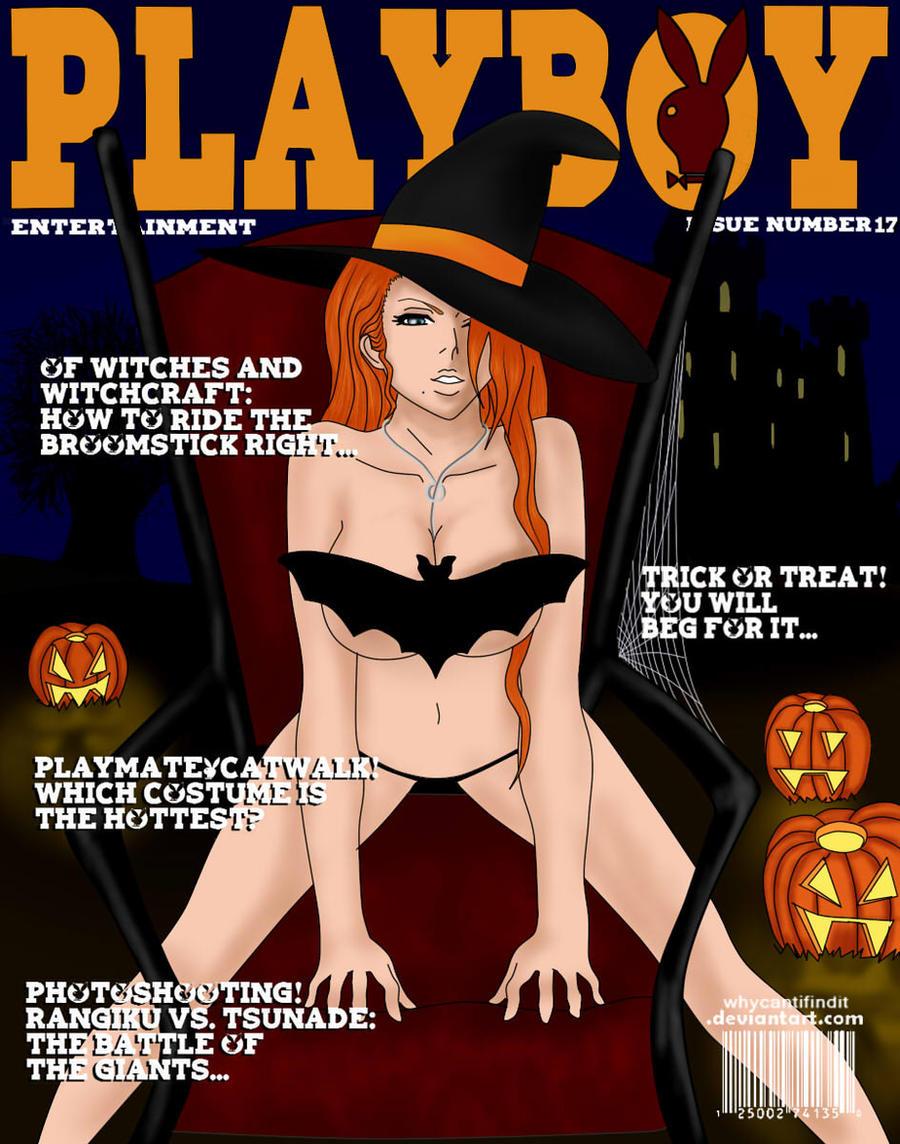 Playboy Cover: Rangiku by WhyCantIFindIt