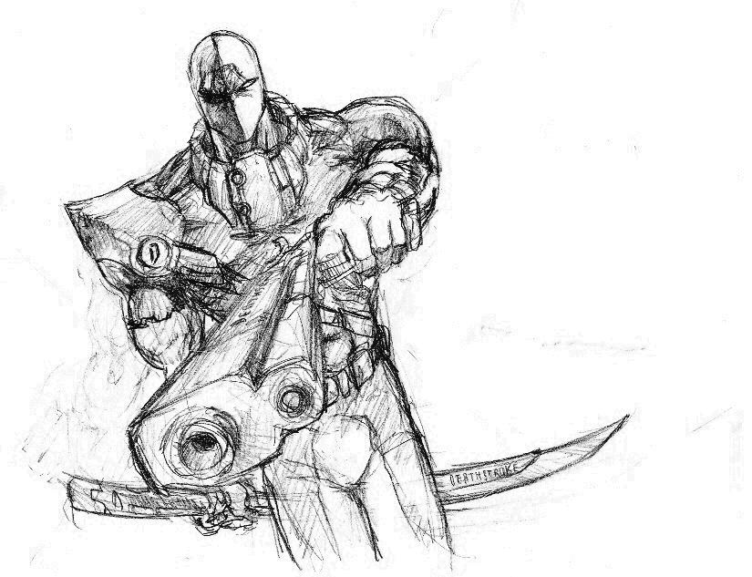 That's Deathstroke to You by SiLLiMan-00