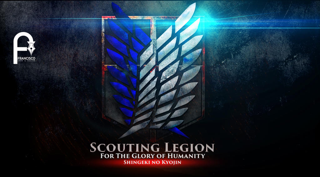 Scouting Legion Wallpaper Shingeki No Kyojin By