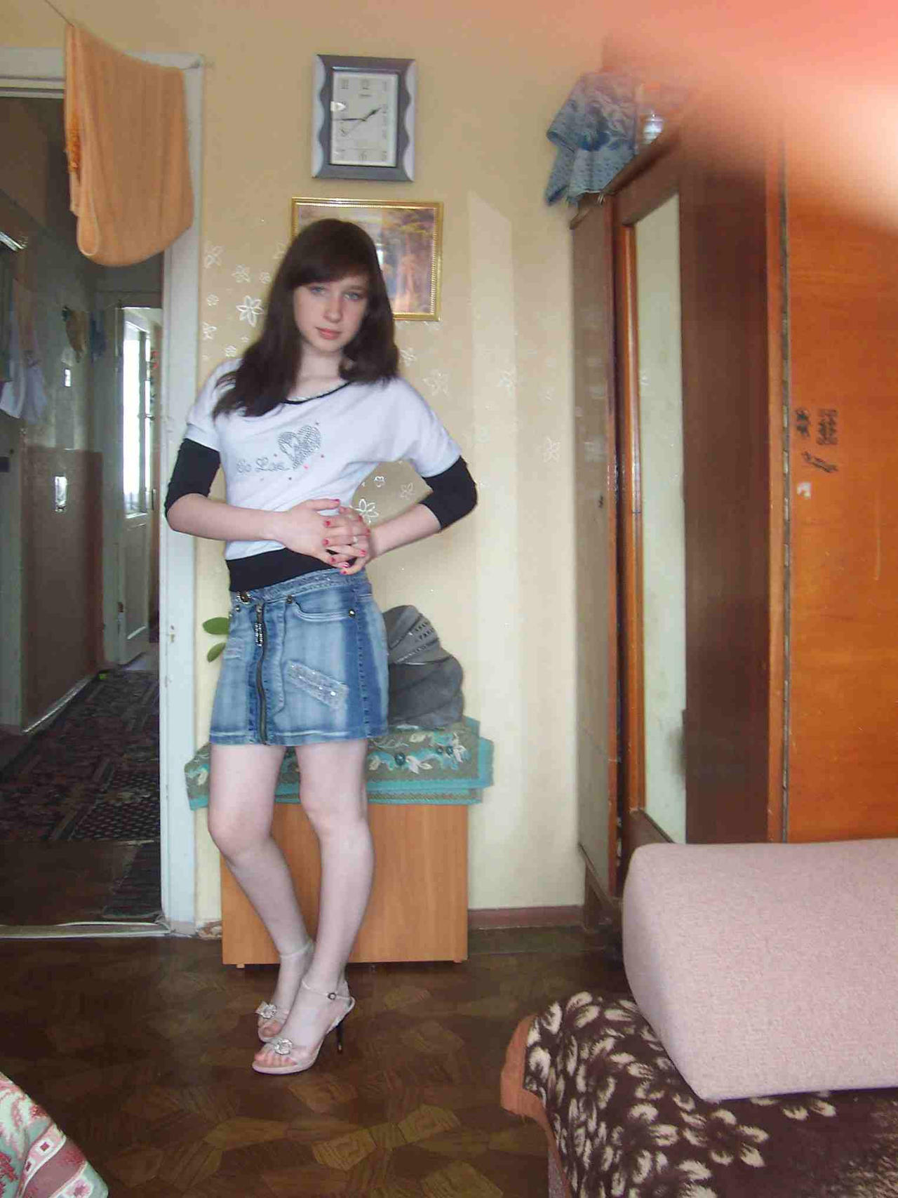 Girl's feet would grow soon by Blackusurp on DeviantArt