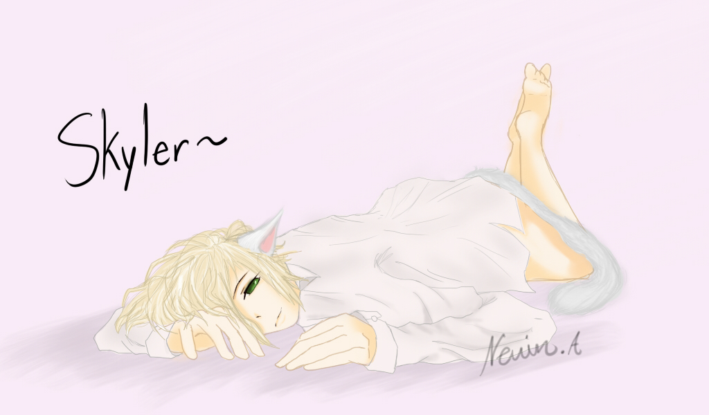 (Kami's OC) Skyler by Nevishan