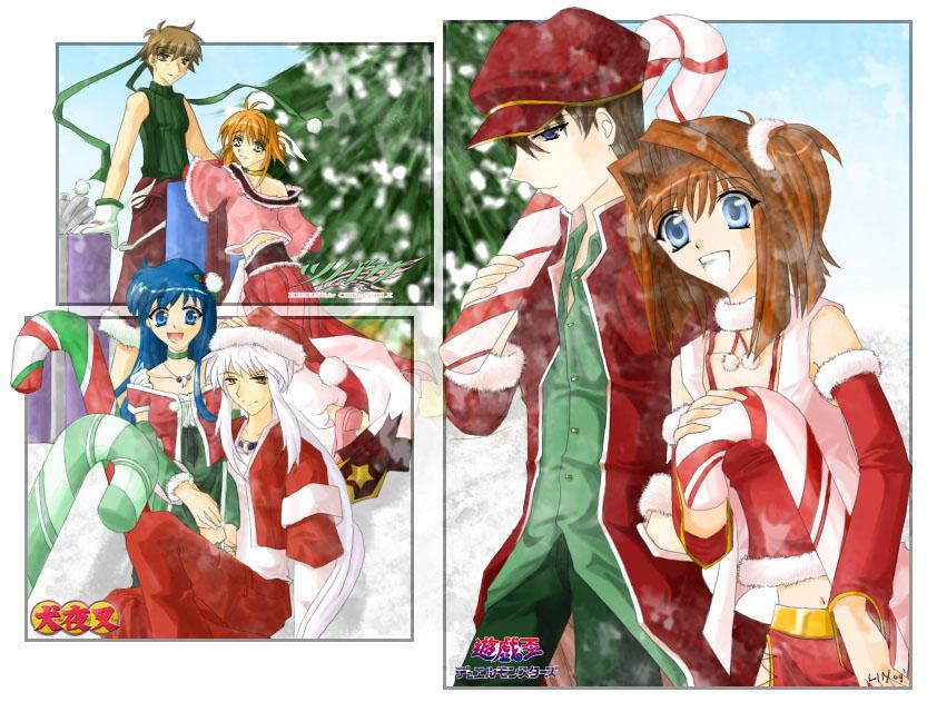 Christmas Anime Love Anime Christmas 2k4 by