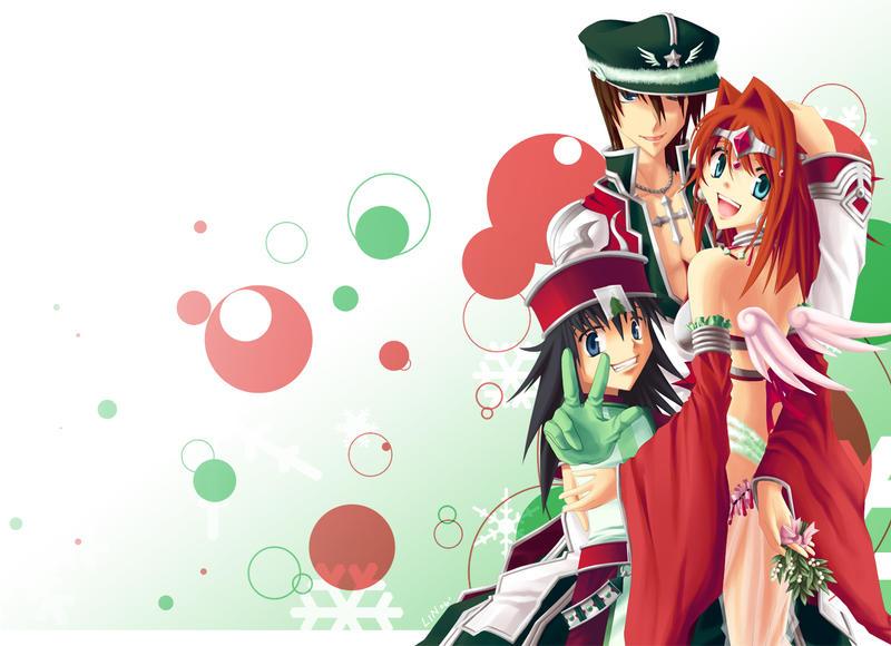 SAO] Merry Christmas by pkachu-kun on DeviantArt