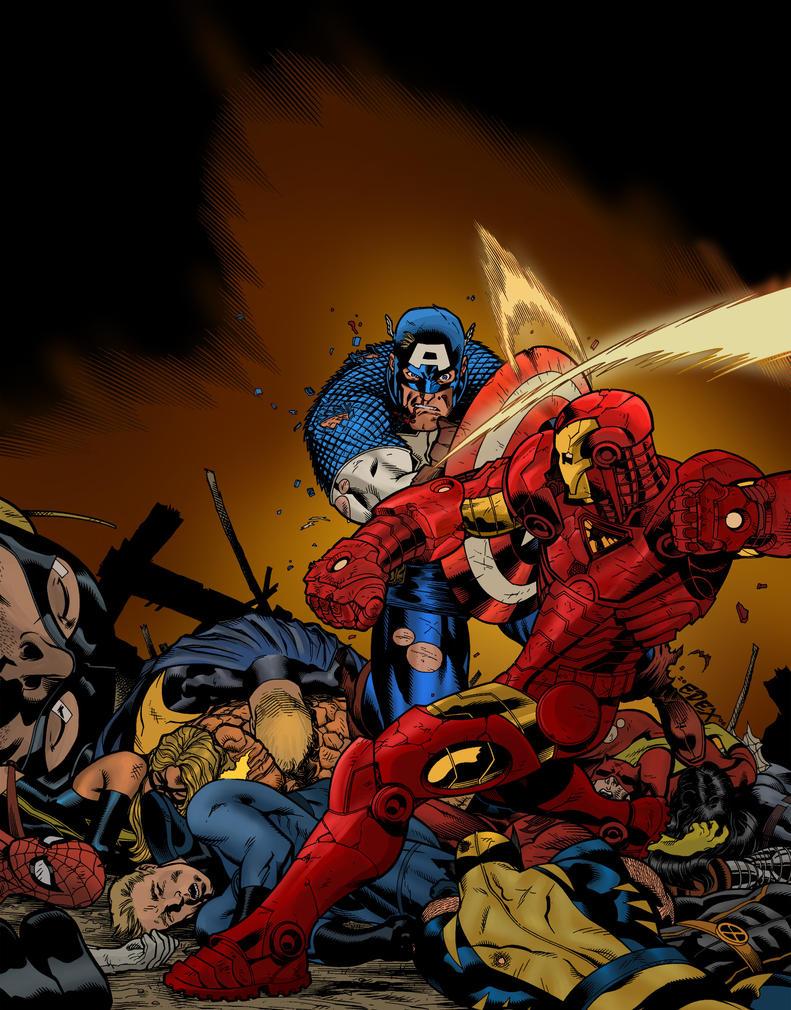 Civil War by joeyboylondon
