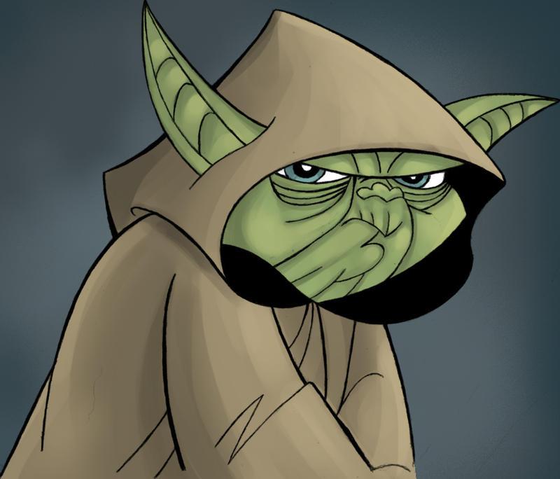 Yoda by joeyboylondon