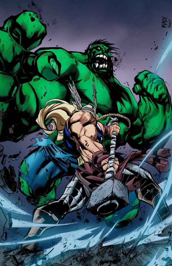 Hulk Smash 'Em by joeyboylondon