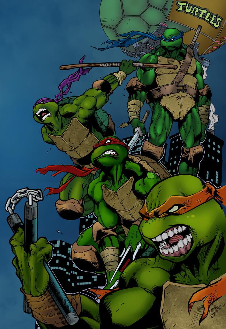 Turtle Power by joeyboylondon