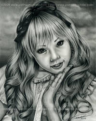 Alice in Wonderland by pat-mcmichael