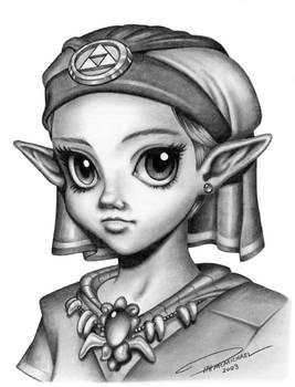 Young Princess Zelda
