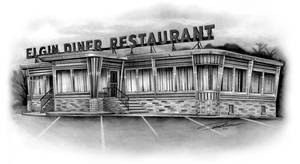 Diner Drawing