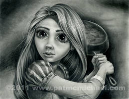 Rapunzel - Tangled by pat-mcmichael
