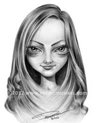 Amanda Seyfried Caricature