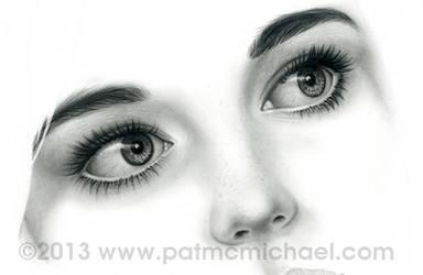 !st Portrait for 2013 by pat-mcmichael