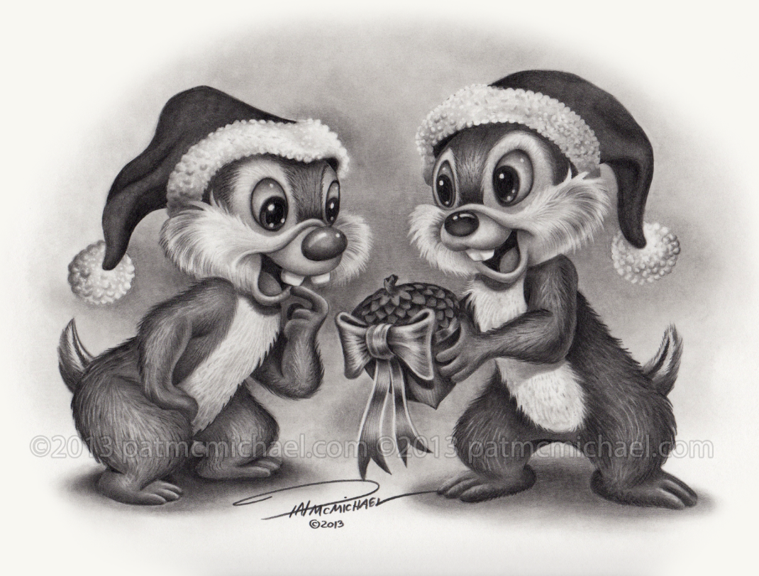 Chip-n-Dale by pat-mcmichael