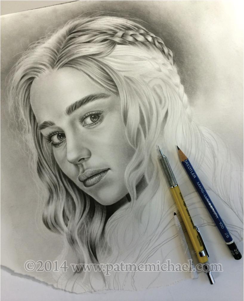 Daenerys Targaryen part4 by pat-mcmichael