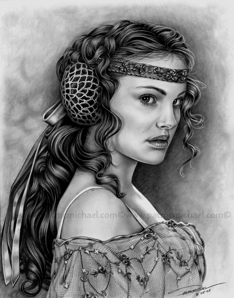 Queen Amidala By Pat Mcmichael On Deviantart