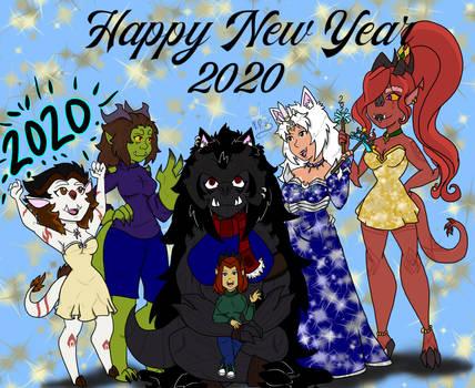 New Year 2020, My all good friend artist!! :D