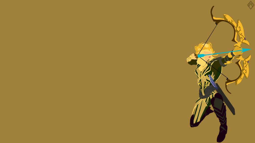Artemis Stalker Minimalist Wallpaper by iTwistedSpartan on ...