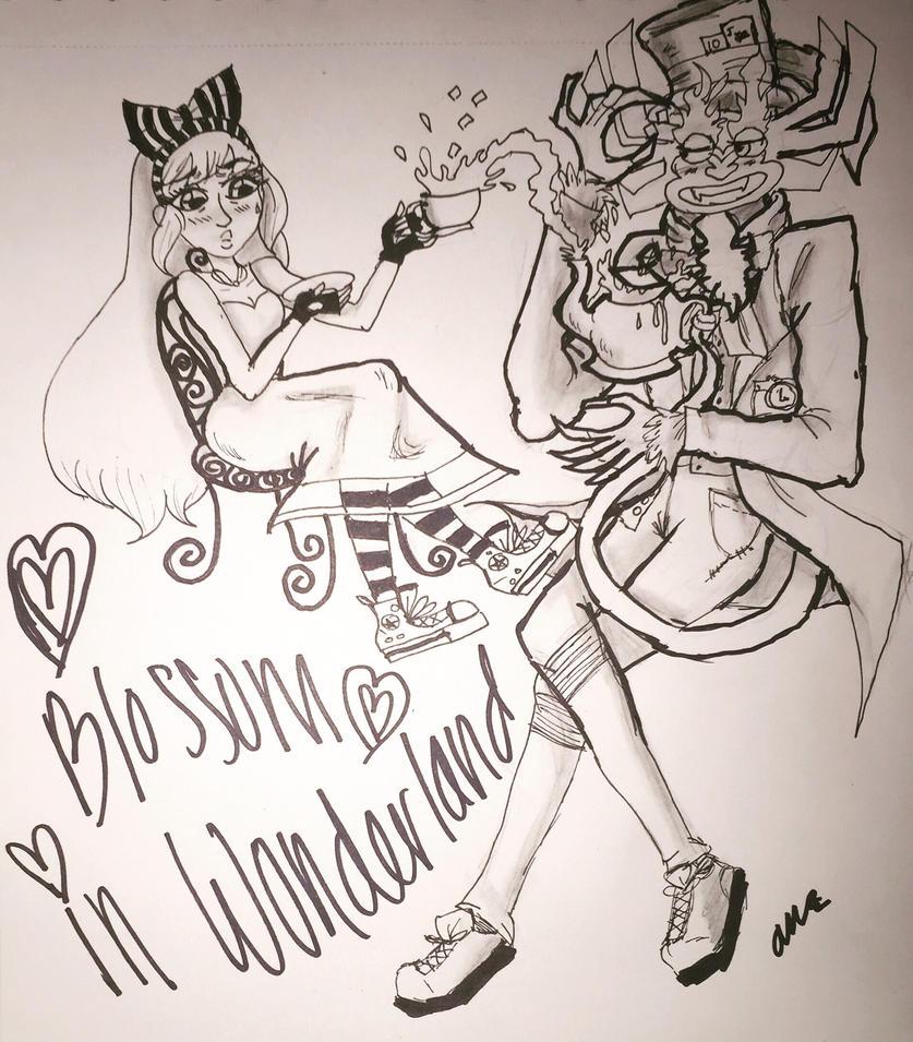 Blossom Lost In Her Wonderland by rex000013