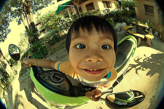 funny asia kid