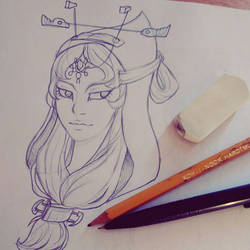 -Midna sketch- by flopicas