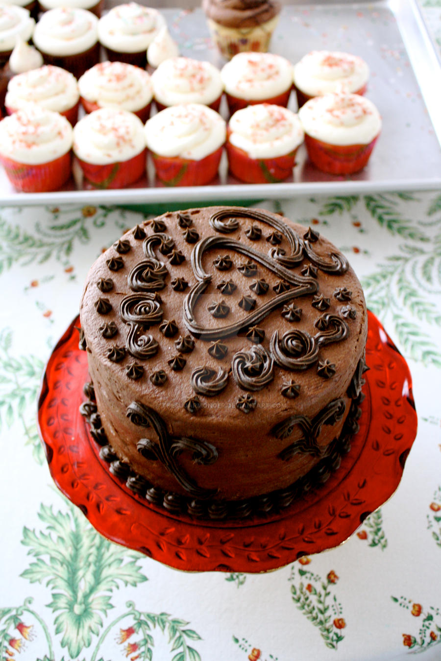 Mexican Hot Chocolate Cake by theSugarmonger on DeviantArt