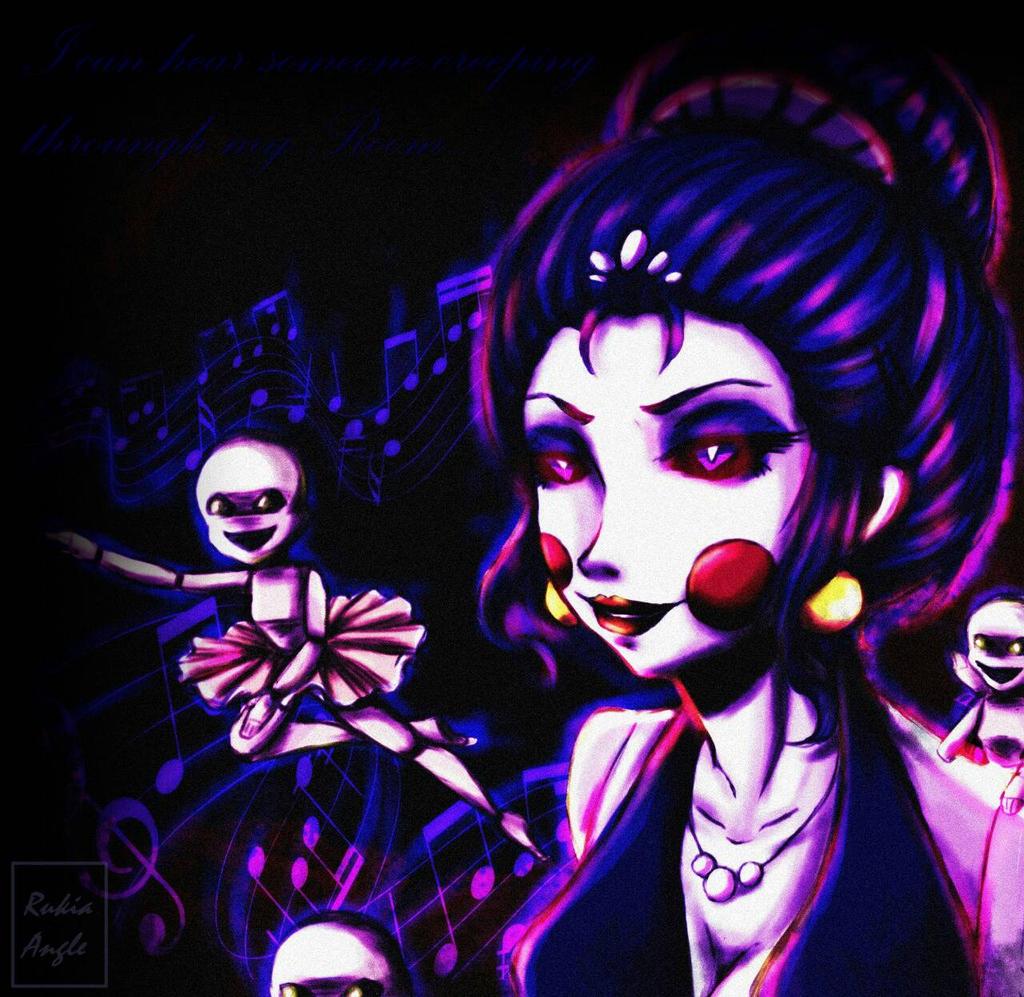 Ballora And Minireena By RukiaAngle On DeviantArt