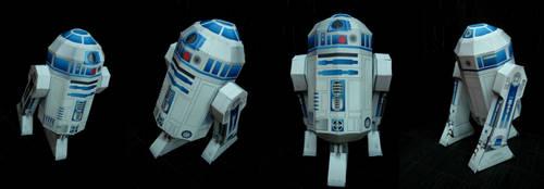 R2D2 papercraft