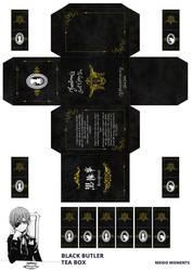 Black Butler - Tea box