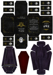 Black butler - Tea box and biscuit box