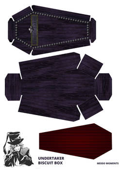 Undertaker's biscuit box