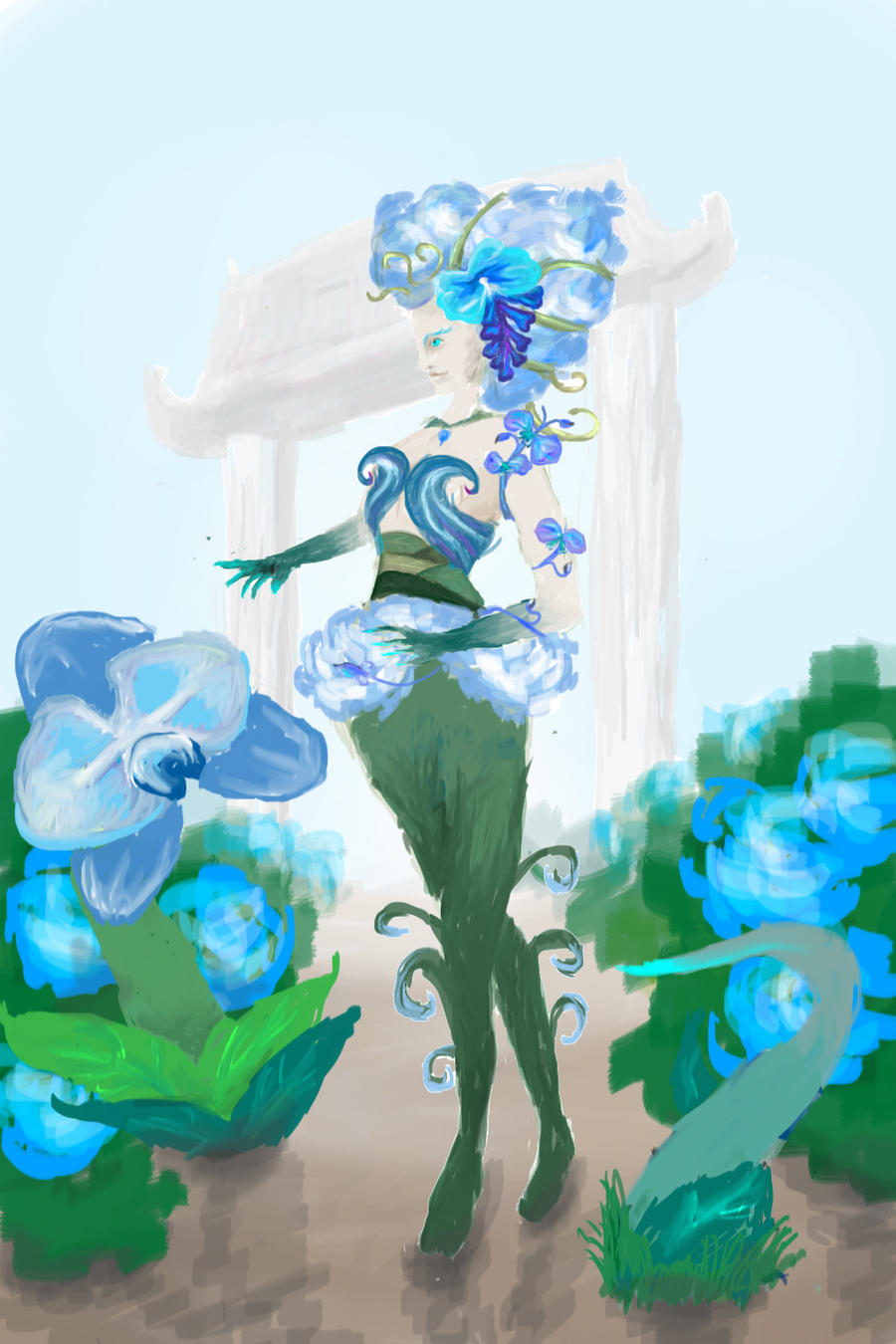 Blue Orchid Zyra by Inovis21
