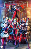 Arkham Asylum Harley Quinn by HedwinZ89