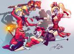 Harley Quinn x3
